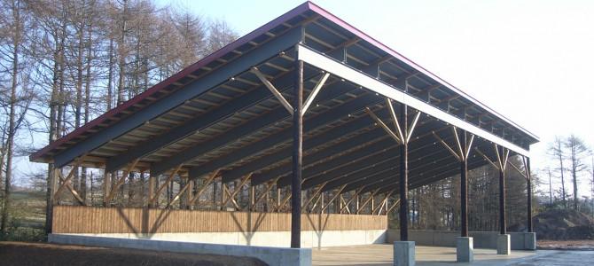 T牧場・堆肥舎新築工事